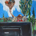 Vitactivan, 2014, Acryl auf Leinwand, 50 x 40 cm