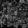 Kitt/Genese, 2013, digital drypoint on PVC fabric, 200 x 300 cm