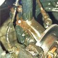 Bremssattel mit Scheibe kompl. fertig geschützt