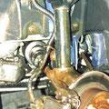 Vordere Bremsanlage kompl. fertig geschützt