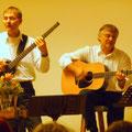 Arthur Görges und Charlie Lehner = Hands'n'Voices
