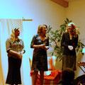 Helga Baumgartner, Sigrid Sommer, Monika Lößl