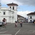Provinz-Hauptstadt Popayán Sie zählt 150'000 Einwohner