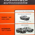 Peugeot 404 Volkswagen Scirocco