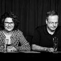 """Barbara Auer & Christian Maintz """"Vom Knödel wollen wir singen""""   Foto: Helmut  Bär"""