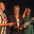 Drei Männer... Heizmann, Wengert, Homburger   Foto: Helmut Bär