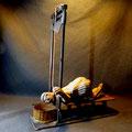Die Hinrichtung ; Guillotine von Peter Lenk
