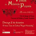 Velada Música Poesía 2012