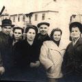1952 год. Работники треста Венцель И.Ю., Жукова, З.А.,  Богомолова М.В., Ферлюдина З.А., Патрина