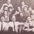 Рработники треста в 1956 году.
