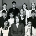 973-1974 год, 6-а класс. Тамара Алексеевна Зайнуллина.