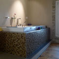 Mosaico 23mm Foglia Quarzite