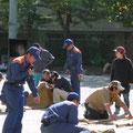 猫実三地区合同防災訓練(2012年)