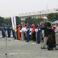 2005年 浦安市防災訓練 市長による防災訓練講評