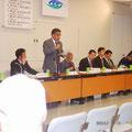 2006年度浦安市自治会連合会総会 5月10日に開催された自治会連合会の総会の様子