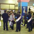 2008年 夜間路上禁煙運動 浦安駅前でのキャンペーン活動の様子