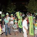 夏:自治会合同の市内一斉防犯パトロール