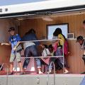 毎年、秋に開催される浦安市総合防災訓練には市内全自治会が参加する(撮影 広報委員 松村)