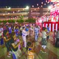 大勢の市民が楽しんだ納涼盆踊り大会
