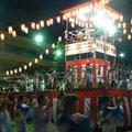 2007年 浦安市納涼盆踊り大会 2日間ともに好天に恵まれ、夜遅くまで大盛況となった