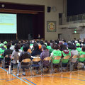 舞浜地区3自治会が合同で参加した「舞浜小学校避難所開設・運営訓練」