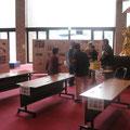 市民まつりの1日目に文化会館にて「自治会パフォーマンスフェスティバル」と自治会紹介のパネル展示を行った