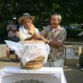 2005年 碧浜自治会夏祭り 初まつりの様子