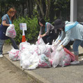 春:全市の一斉清掃に参加