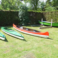 Kajaki, kanu i łódka