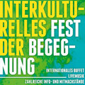 Flyer zum Interkulturellen Fest des Migrationsrates Northeim