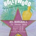 "Maturaball-Plakat 2016, Thema:""Hollywood"", Entwurf Birgit Rieder"