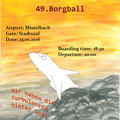 "Maturaball-Plakat 2016, Thema:""BORG-Airways"", Entwurf Sarah Schiel"