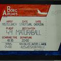"Maturaball-Plakat 2016, Thema:""BORG-Airways"", Entwurf Michaela Semela"