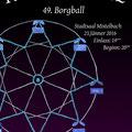 "Maturaball-Plakat 2016, Thema:""Karussell"", Entwurf Barbara Wendt"