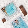 aussenwhirlpool mit swimm spa