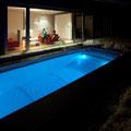 swimspa  beleuchtet