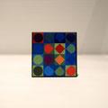 Magnet Vasarely Berryl-rouge petit format