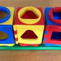 € 4,50 zonder vormblokjes  setnummer 2099 Fun shape sorter