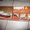 € 25,00 Capri modelbouw vrachtschip incl motortje