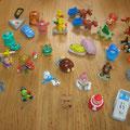 Verschillende figuurtjes vanaf € 0,10 per stuk
