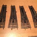 € 32,50 voor 4 stuks Fleischmann 6071 (6044R) 3stuks werkend en 1stuks niet werkend maar wellicht te repareren