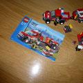 € 9,50 Legoset 7942 Brandweer met pickup