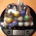 €2,50 1 kilo dikke knikkers