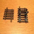 € 3,75 1 Stootblok 55mm,  Blauwe uitvoering en 1 stukje rail 6004