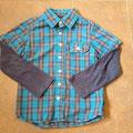 €2,00 blouse met shirt maat 122 Merk: FransaKids