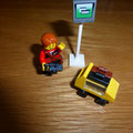€ 2,50 Lego traveller 7567gebruikt maar compleet