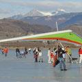 Eisfliegen am Kalterer See