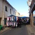 Le marché à Sahagun