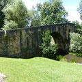 Le pont médéval à Colloto