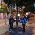 Ici se trouve les flèches jaunes, rue San Jorge